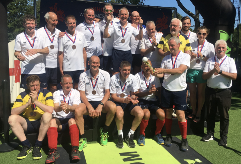 Scotland Over 60 2019 World Grand Masters Bronze Medallists