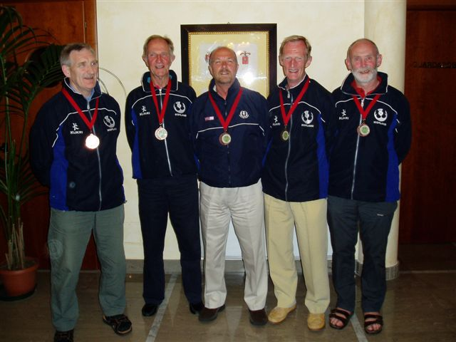 Five Aberdeen GSFP players won bronze medals for Scotland - Bra 2006