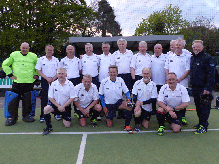 Scotland Over 65 Squad Celtic Cup 2017 Cork