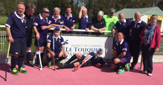 Scottish Thistles squad in Le Touquet 2017