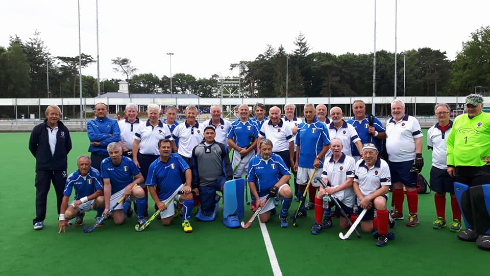 Scottish Thistles and Italy teams in Tilburg 2017