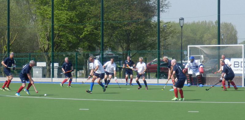 a Scotland GM short corner against France in the 2018 Celtic Cup