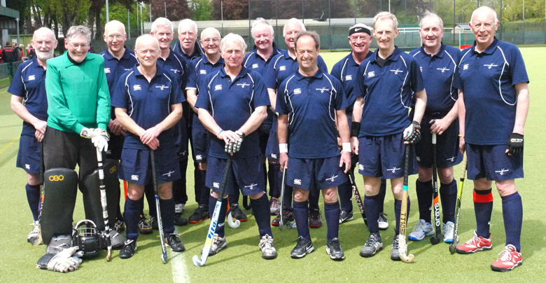 Over 65s team photograph