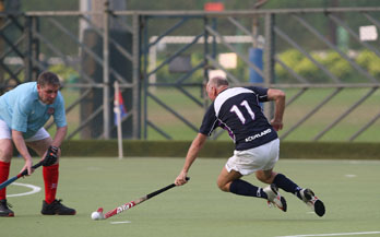 Cheesy Dunlop in action v Hong Kong in World Championships 2008