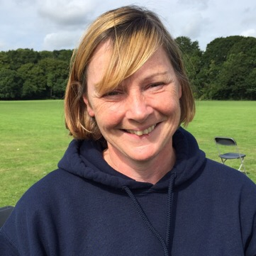 Mhairi Ferrol - Scotland SGM team manager Eurohockey 2015