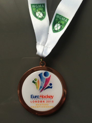 Eurohockey 2015 Bronze Medal won by Scotland Senior Grand Masters
