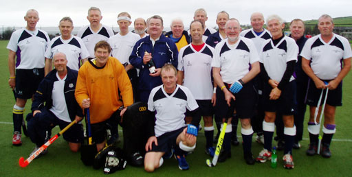 Scotland Over 60s team photograph Largs 2009
