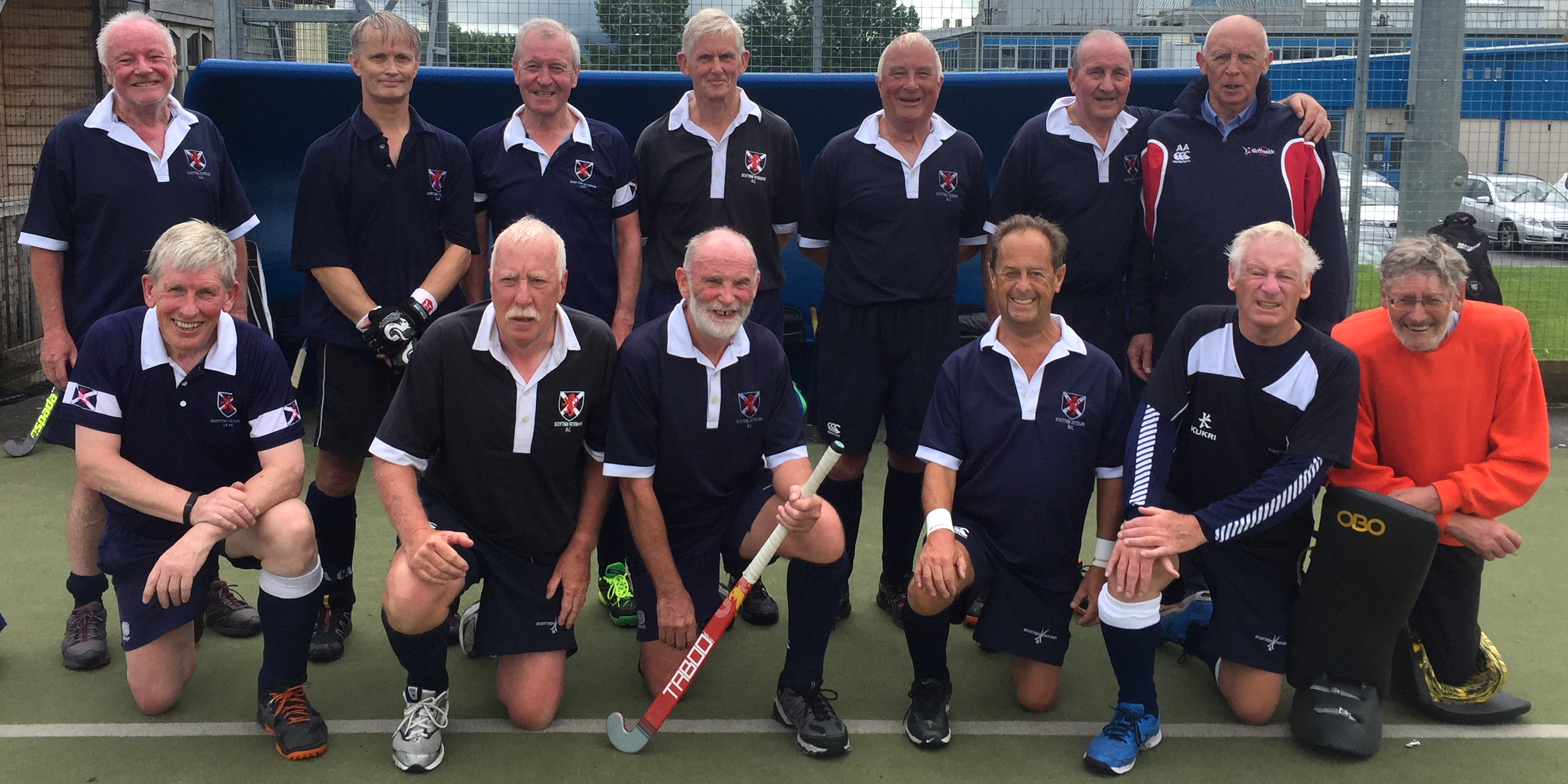 Scottish Thistles Over 70 squad Cockermouth July 2017