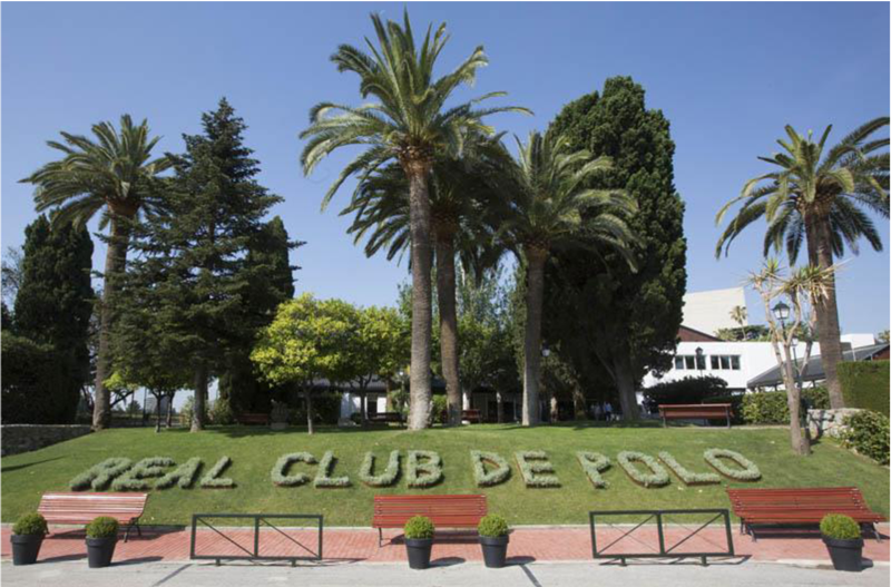 Real Club De Polo Entrance