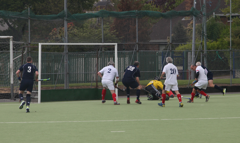 Bernie Morrison about to score v France in GM Celtic Cup 2017