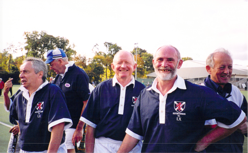 Some of the Scotland LX players in Paris 2002