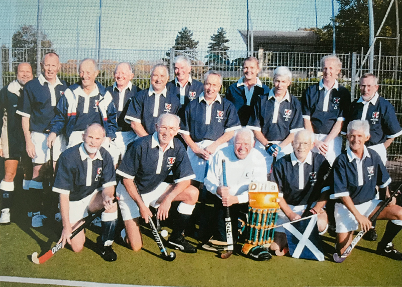 Scotland LX in Grand Masters European Trophy Paris 2002
