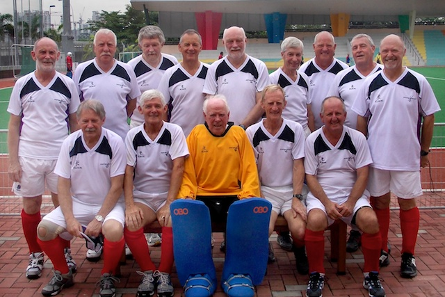 Scotland team in Singapore Oct-Nov 2011