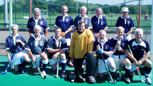 Scottish Thistles team Durham 3 July 2011