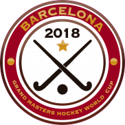 2018 Grand Masters Hockey World Cup Logo