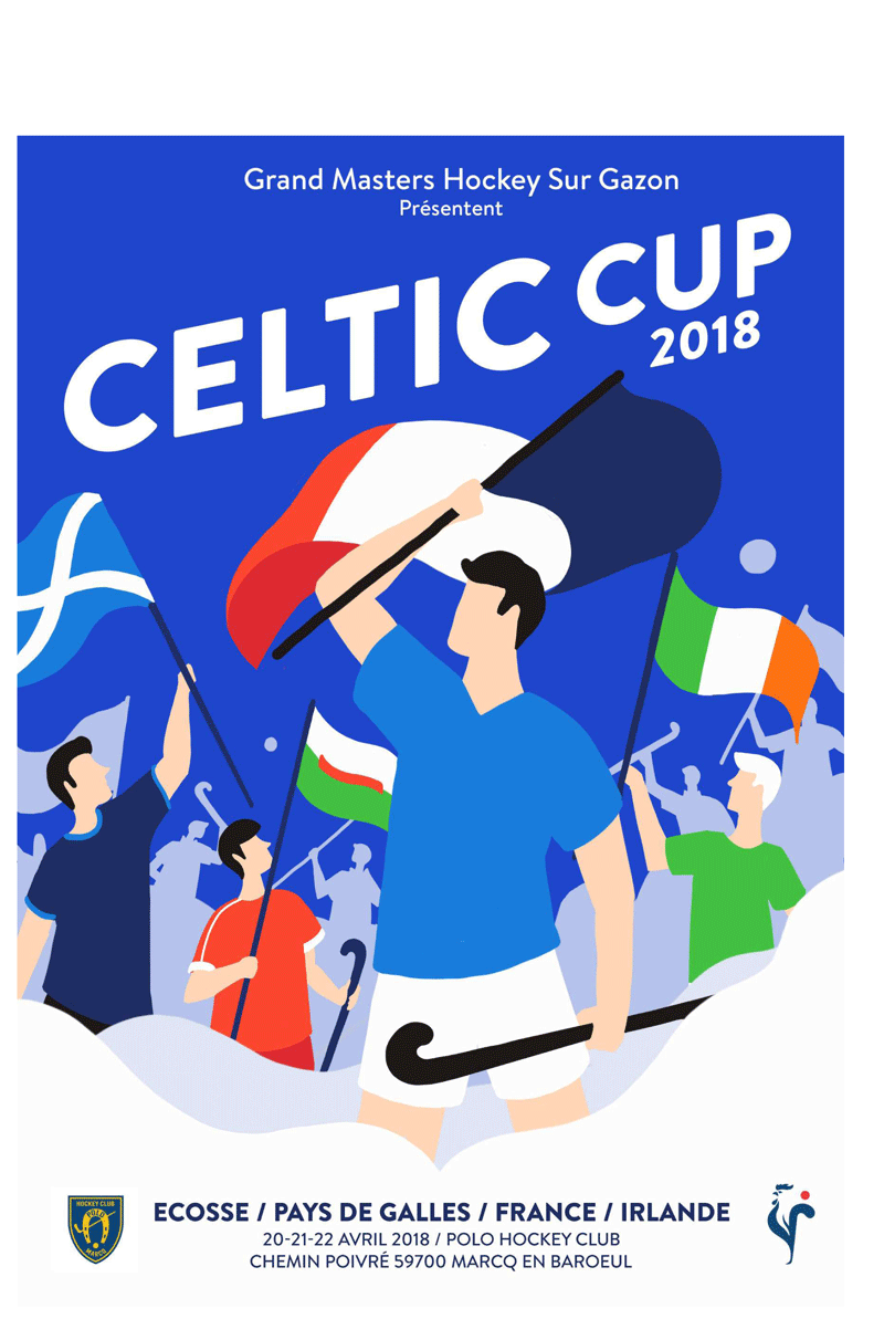 2018 Celtic Cup Poster